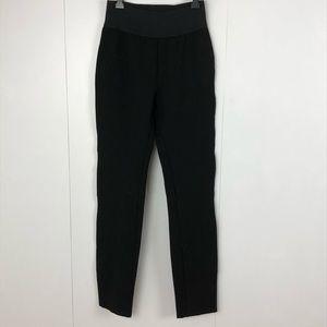 PAIGE ultra skinny black leggings high waist small